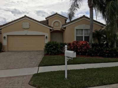 Lake Worth Single Family Home For Sale: 9478 Vercelli Street