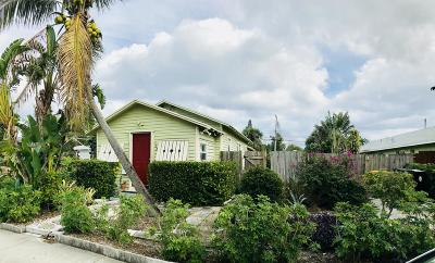 Lake Worth Single Family Home For Sale: 322 D Street