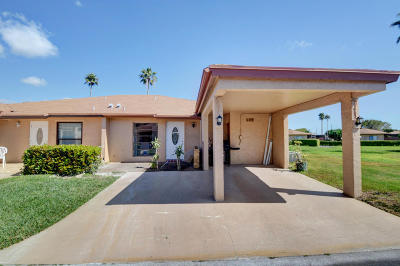 Delray Beach FL Single Family Home For Sale: $165,900