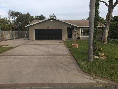 Boynton Beach Single Family Home For Sale: 2310 SE 1st Street