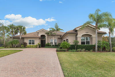 West Palm Beach Single Family Home For Sale: 7918 Arbor Crest Way