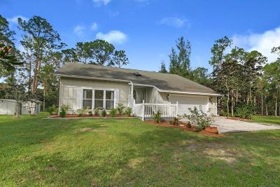 West Palm Beach Single Family Home For Sale: 13485 Orange Grove Boulevard