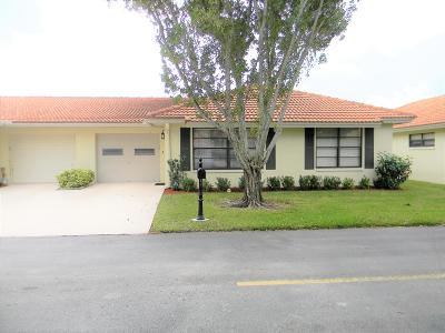 Boynton Beach Single Family Home For Sale: 4630 Wildwood Tree Lane #B