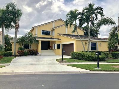 Boca Raton Single Family Home For Sale: 8662 Eagle Run Drive