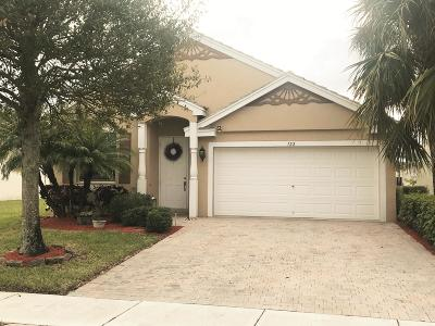 Royal Palm Beach Single Family Home For Sale: 122 Newberry Lane