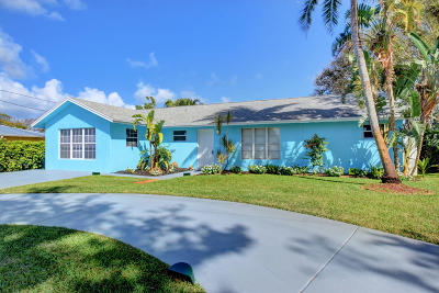 Boynton Beach Single Family Home For Sale: 3638 SE 1st Street