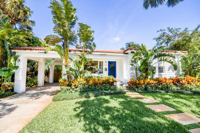 West Palm Beach Single Family Home For Sale: 307 30th Street