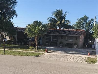 West Palm Beach Single Family Home For Sale: 1417 Victoria Drive