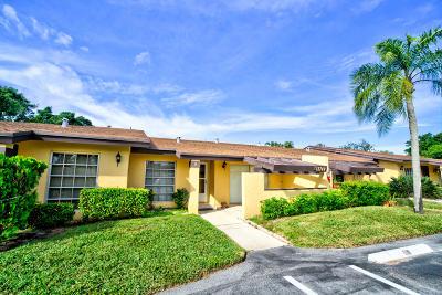 Delray Beach Single Family Home For Sale: 13749 Via Aurora #B