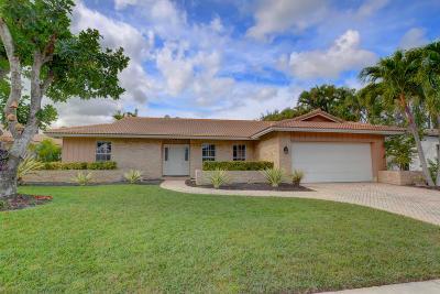 Boca Raton FL Single Family Home For Sale: $489,000