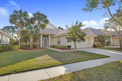 West Palm Beach Single Family Home For Sale: 9098 Bay Harbour Circle