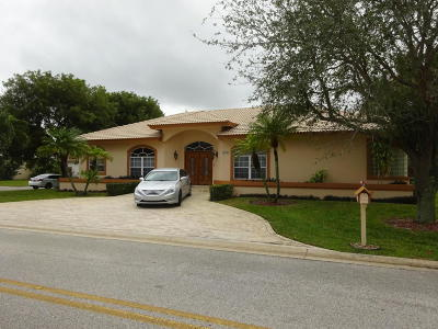 Boynton Beach Single Family Home For Sale: 4574 Bucida Road