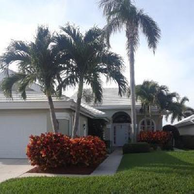 West Palm Beach Single Family Home For Sale: 1515 Bear Island Drive