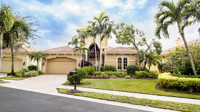West Palm Beach Single Family Home For Sale: 7024 Tradition Cove Lane W