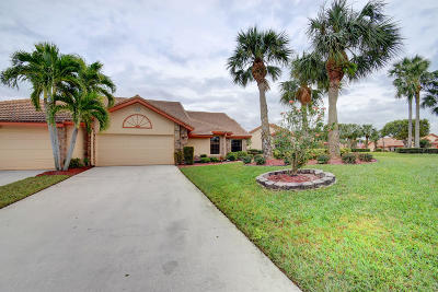 Boynton Beach Single Family Home For Sale: 7270 Hearth Stone Avenue