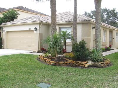 Lake Worth Single Family Home For Sale: 6803 Ashburn Road