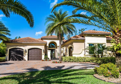 West Palm Beach Single Family Home For Sale: 7741 Eden Ridge Way