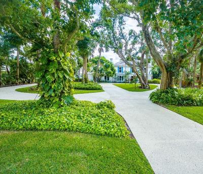 North Palm Beach Single Family Home For Sale: 12400 Plantation Lane