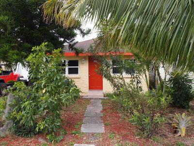 Lake Worth Single Family Home For Sale: 625 J Street