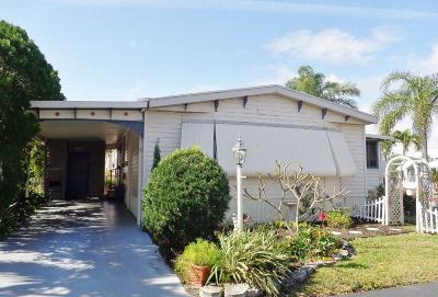 Boynton Beach FL Mobile Home For Sale: $109,900