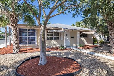 Lake Worth Single Family Home For Sale: 701 O Street