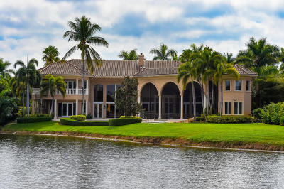 Boca Raton Single Family Home For Sale: 17891 Lake Estates Drive