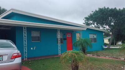 West Palm Beach Single Family Home For Sale: 3400 Windsor Avenue