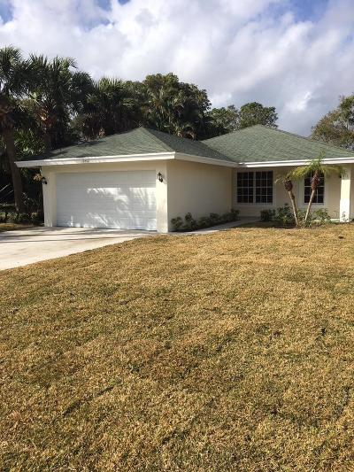 West Palm Beach Single Family Home For Sale: 2467 Queen Street