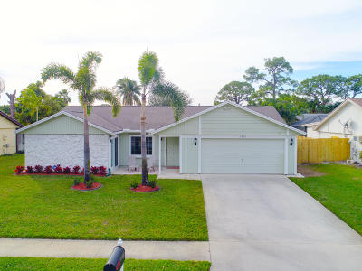 Boynton Beach Single Family Home For Sale: 9286 Longmeadow Circle