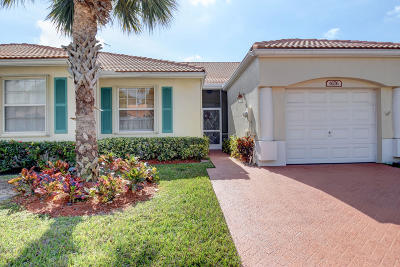 Delray Beach Single Family Home For Sale: 6176 Petunia Road