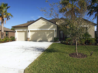 Vero Beach Single Family Home Contingent: 4671 Ashley Lake Circle