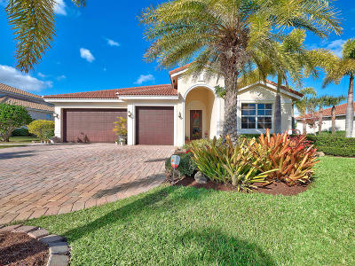 West Palm Beach Single Family Home For Sale: 11145 Rockledge View Drive