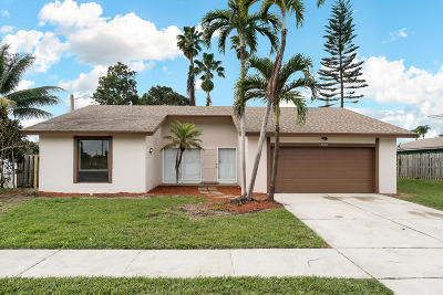 Boca Raton Single Family Home For Sale: 17850 Covey Trail