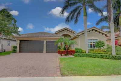 Boynton Beach Single Family Home For Sale: 11825 Fox Hill Circle