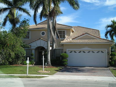 Boca Raton Single Family Home For Sale: 12617 Lady Fern Circle