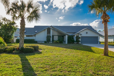 Stuart Single Family Home For Sale: 6960 SW Gaines Avenue