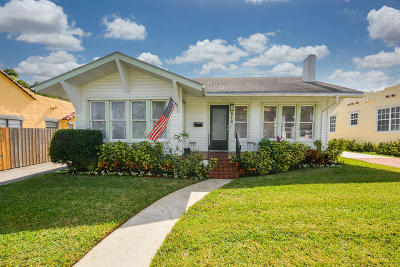 West Palm Beach Single Family Home For Sale: 818 Claremore Drive