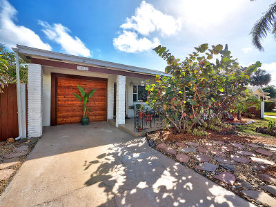 Lake Worth Single Family Home For Sale: 1410 M Street