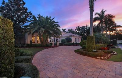 Palm Beach Single Family Home For Sale: 11730 Valeros Court