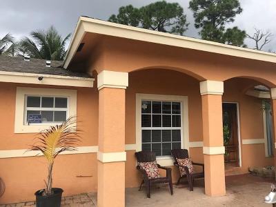 Lake Worth Single Family Home For Sale: 4613 Todd Street