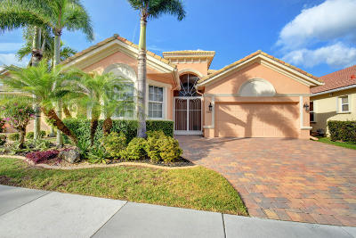 Boynton Beach Single Family Home For Sale: 7085 Veneto Drive