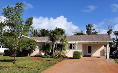 Jupiter Single Family Home For Sale: 1615 Venus Avenue