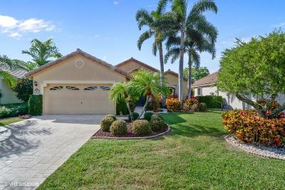Boynton Beach Single Family Home For Sale: 10417 Lexington Circle S