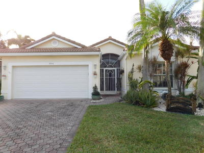 Boynton Beach Single Family Home For Sale: 9851 Lemonwood Drive
