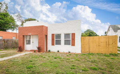 West Palm Beach Single Family Home For Sale: 3412 Greenwood Avenue