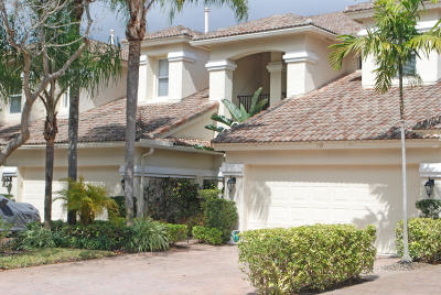 North Palm Beach Townhouse For Sale: 739 Cable Beach Lane