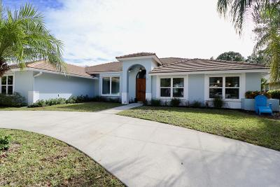 Jupiter Single Family Home Contingent: 6684 Inland Court