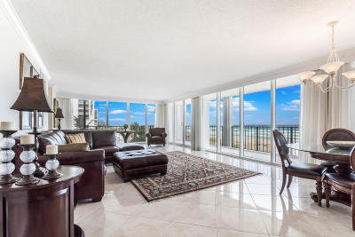 Ocean Towers, Ocean Towers Condominium, Ocean Towers South Condo Apts Condo For Sale: 2800 S Ocean Boulevard #3-A