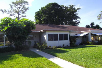 Delray Beach Single Family Home For Sale: 4730 NW 4th Street #B