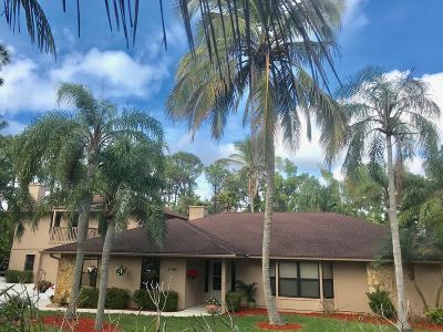 Palm Beach Country Estates Single Family Home For Sale: 7169 154th Road